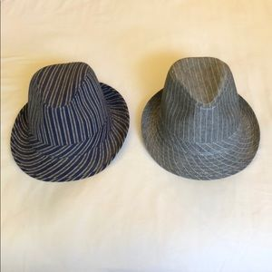 Xhilaration Fedora Hats, Lot of  2, fr early 2000s